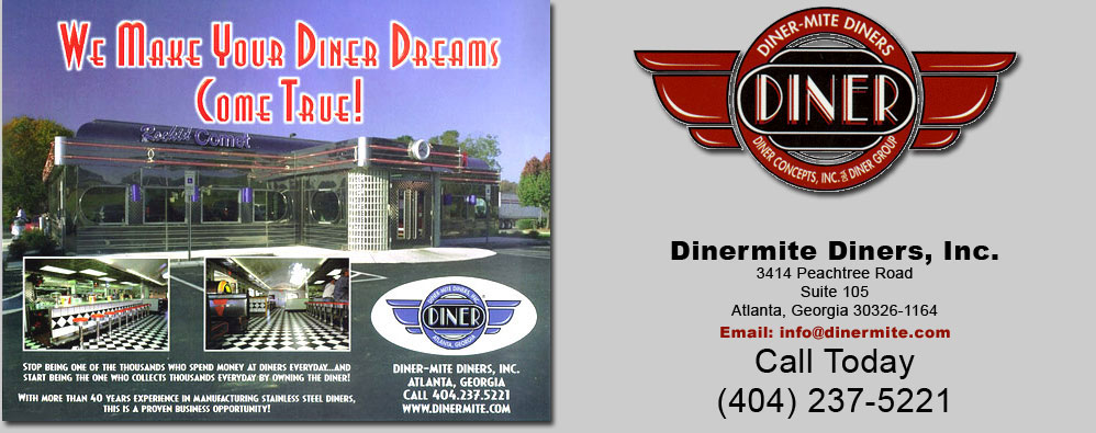 Dinermite Modular Diner and Restaurant Sales